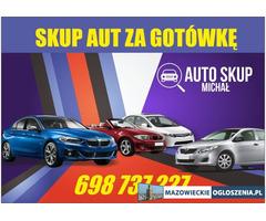 Skup Aut-Najlepsze Ceny|Piaseczno i Okolice $