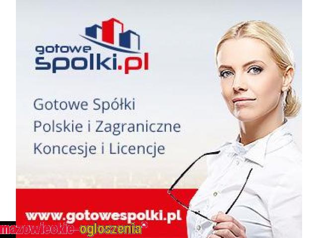 Gotowe Spółki w Bułgarii, KONCESJA OPC, Anglii, Gotowe Fundacje  603557777